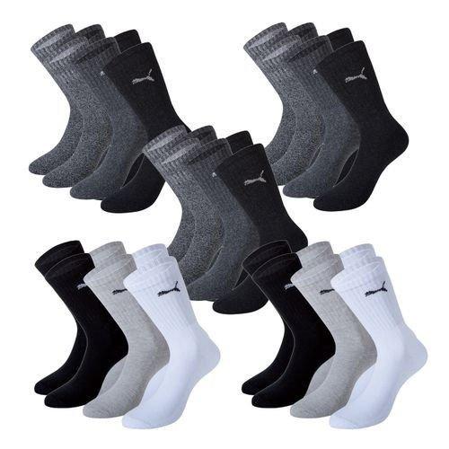 15x Puma Regular Sport Socken für 26,95€ | verfügbare Größen 35-38 | 39-42 | 43-46 | 47-49
