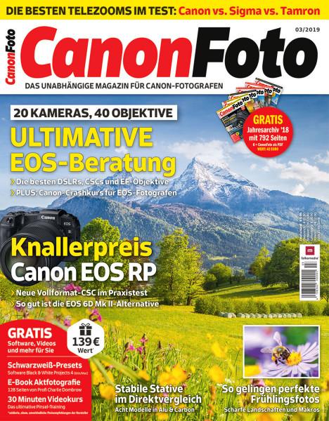 Canon Foto Magazin Abo mit Rabatt für 24,95 €