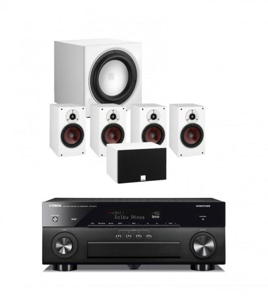 Yamaha RX-A870 schwarz + Dali Zensor PICO 5.1-Set mit SUB | AV-Receiver mit Lautsprecherset fürs gehobene Heimkino
