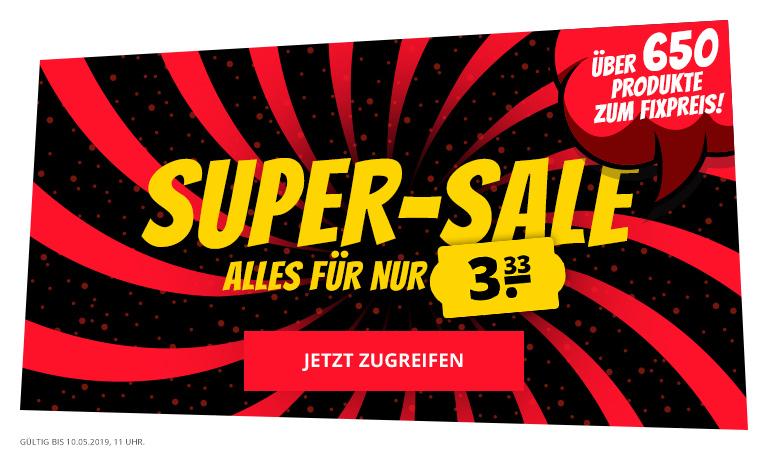 Sport-Spar.de Mega Sale - Alles für 3,33€ (Beispiele im Text)