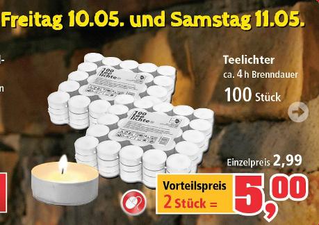 Thomas-Philips Lokal: 200 Teelichter @Freitag+Samstag für 5€