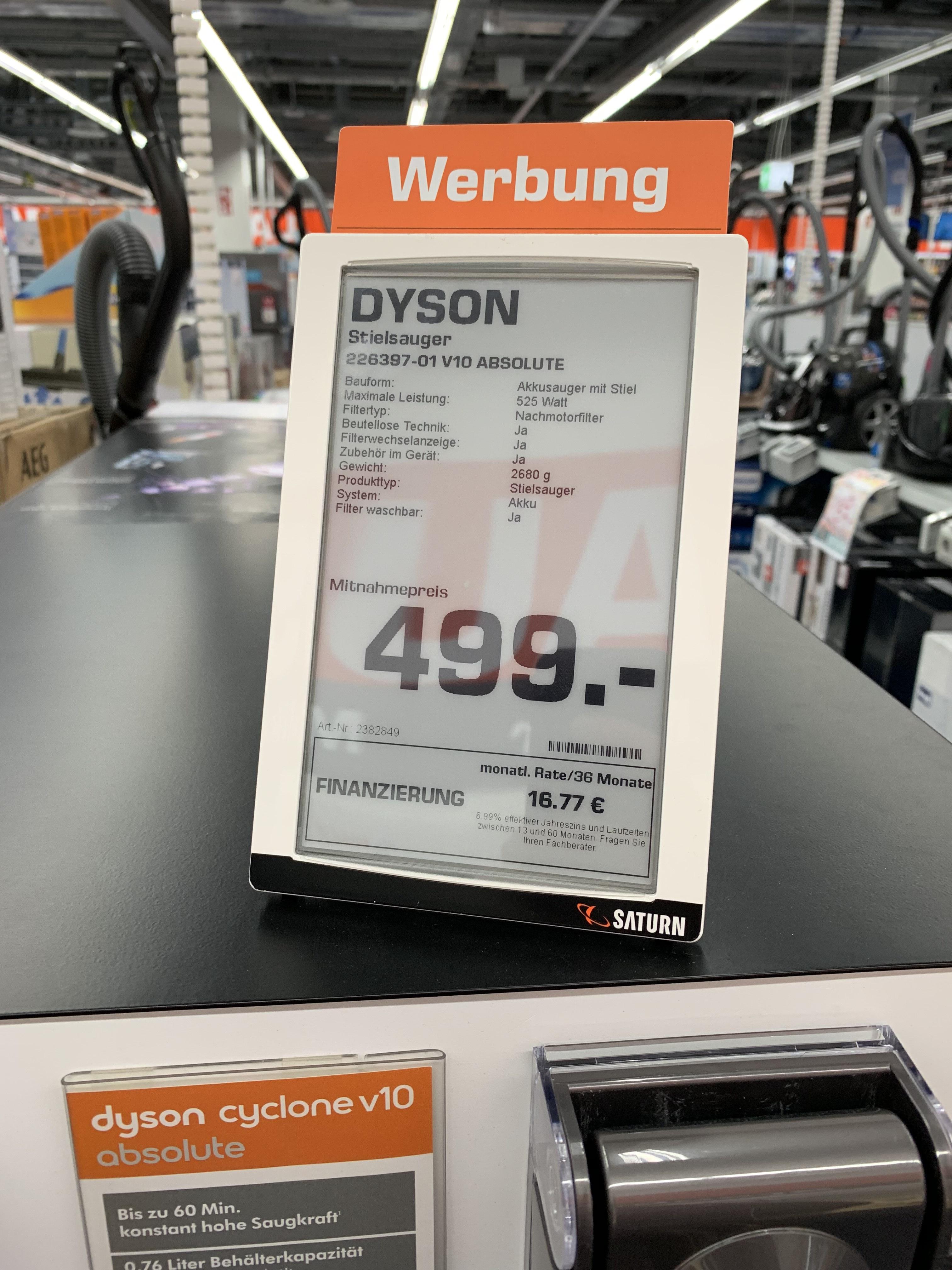 Lokal Dortmund und Umgebung: Dyson Cyclone V10 Absolute