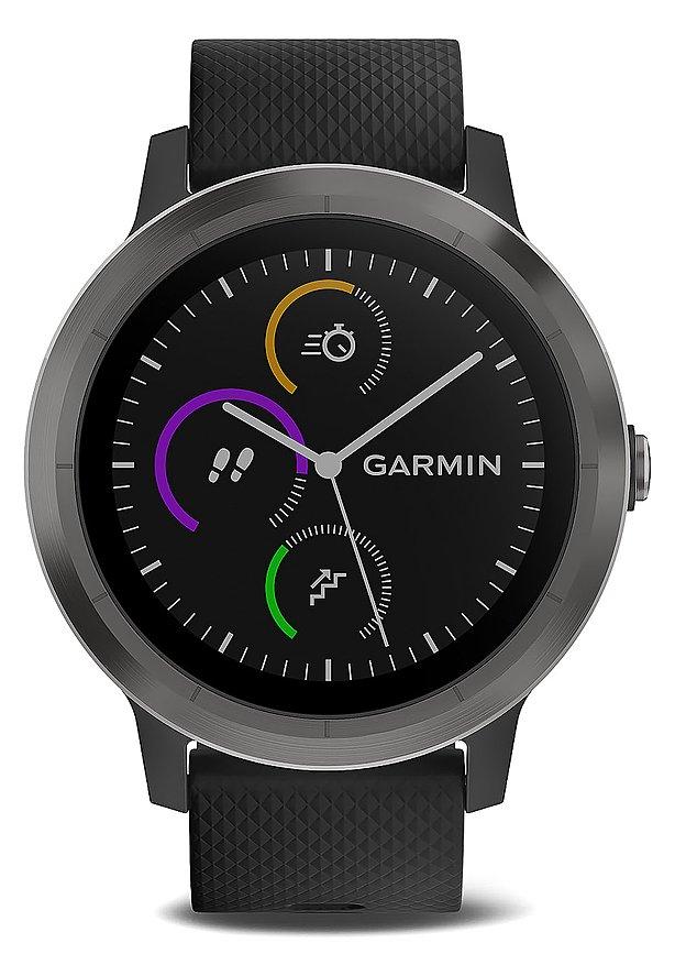 [brands4friends] Garmin vivoactive 3 gunmetal (schwarz/schiefer)