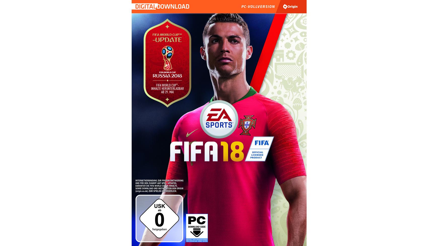 PC-Spiele: FIFA 18 inkl. WM-Update, Doom (USK18/100% Uncut) boxed-Versionen usw.