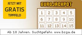 [GMX / WEB.DE Lotto] 2 Felder Eurojackpot für insgesamt 2,20€
