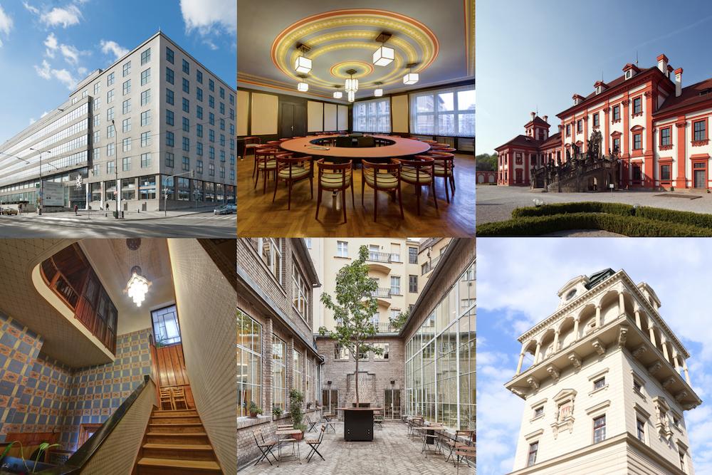 [Prag] Open House Festival Praha - kostenloser Einblick in 80 historische und moderneRäumlichkeiten