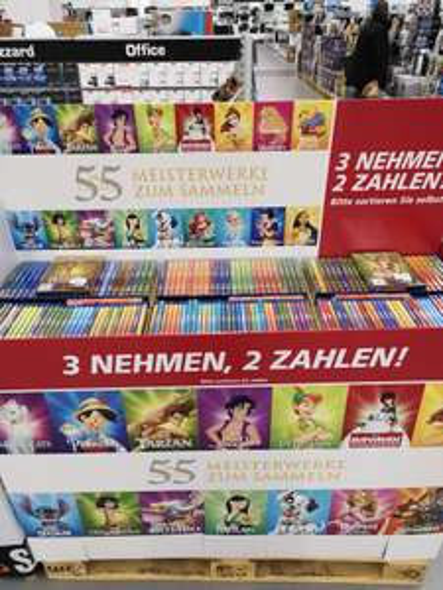 Nimm 3 Zahl 2 Disney classics Saturn Braunschweig