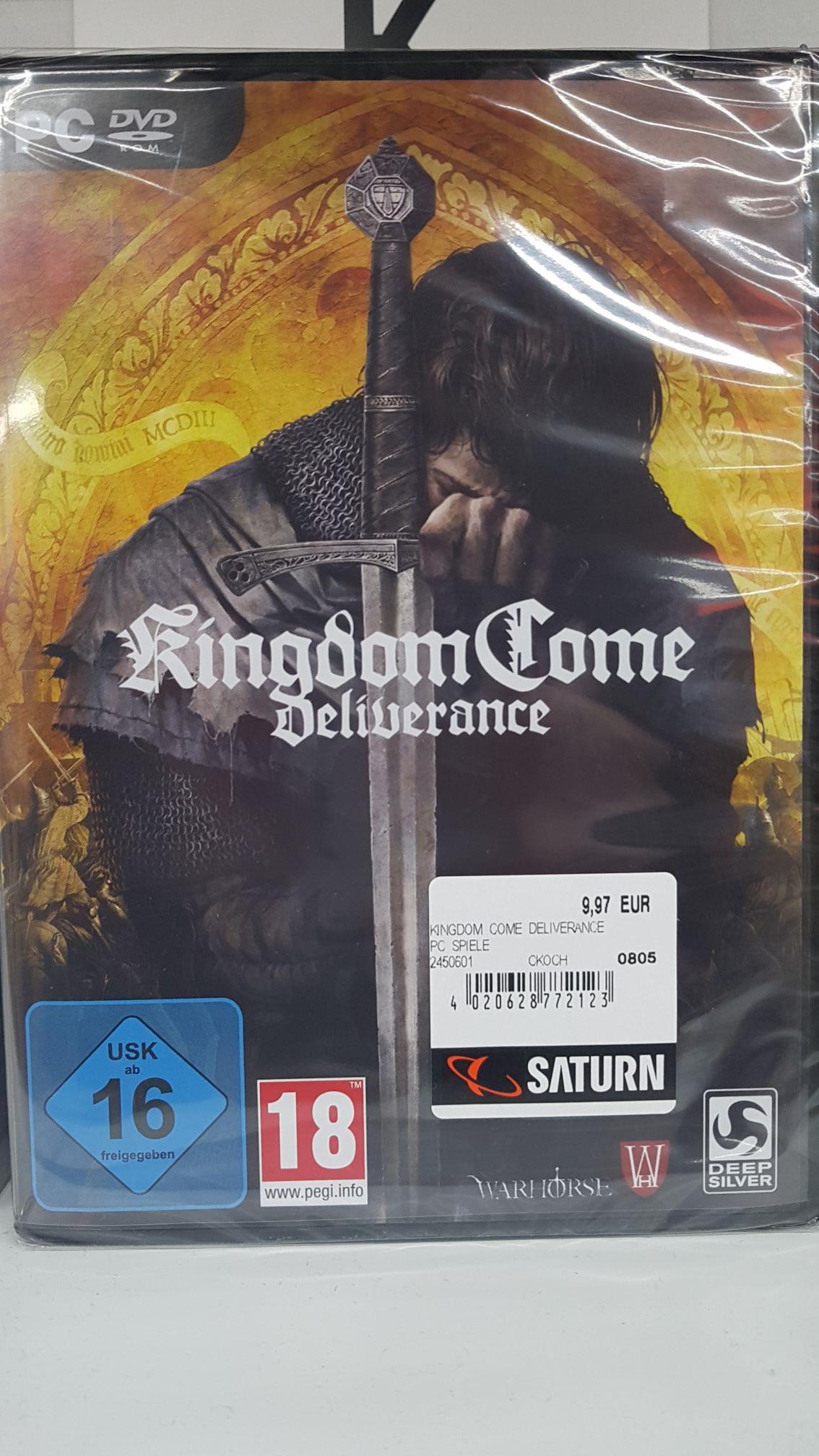 [PC] Kingdome Come Deliverance (Deutsche Version) - Lokal Saturn Darmstadt