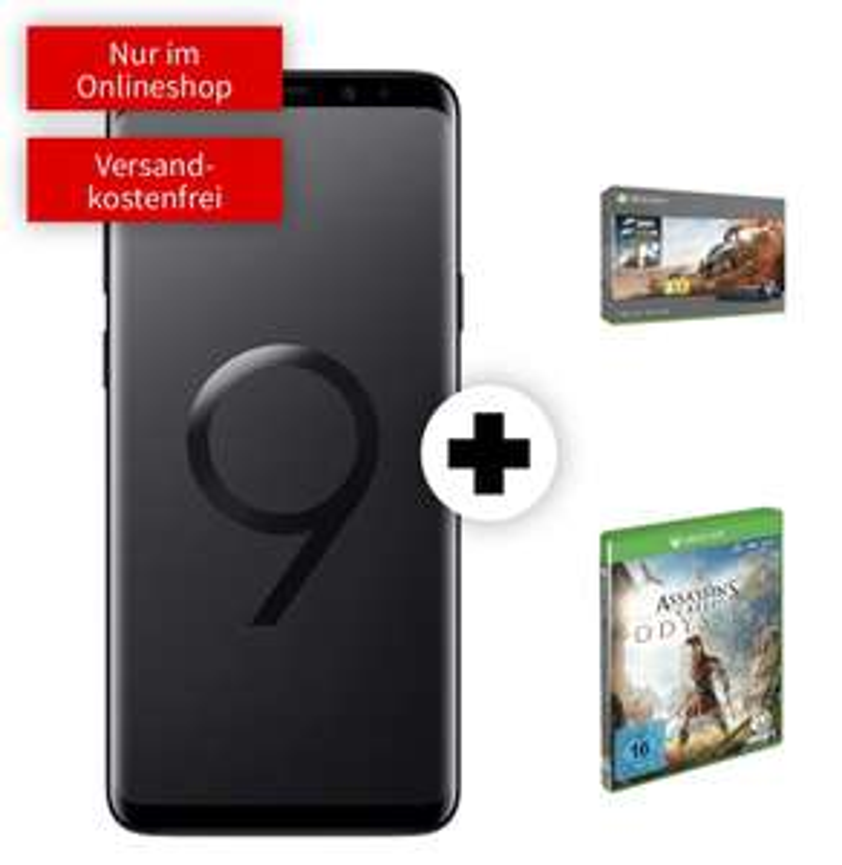 Samsung Galaxy S9+ & Xbox One X 1TB [Forza Bundle] & Assassin's Creed Odyssey im MD Vodafone (6GB LTE, Allnet) mtl. 36,99€ und 49€ einmalig
