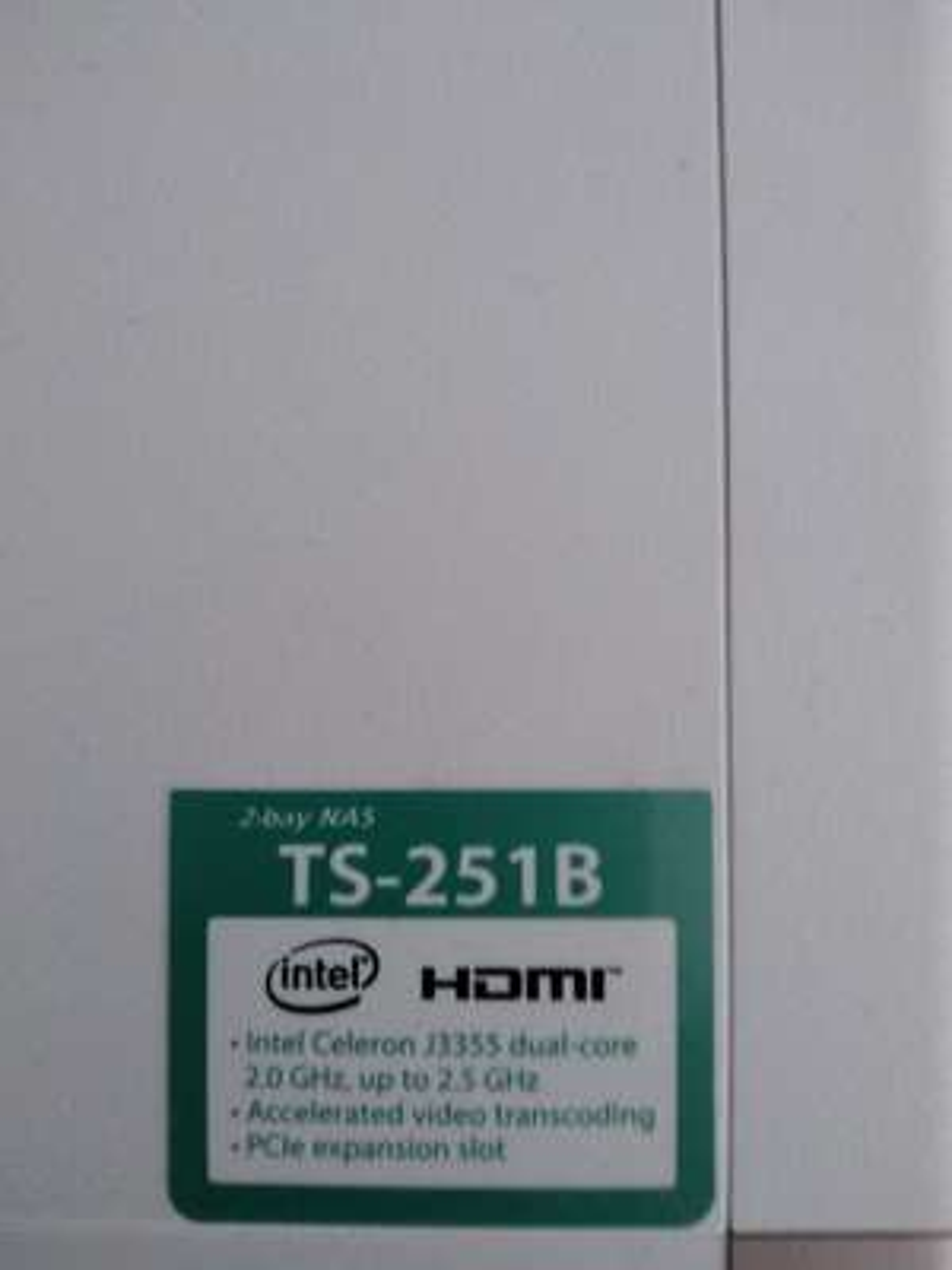 QNAP TS-251B-4G NAS System 2-Bay