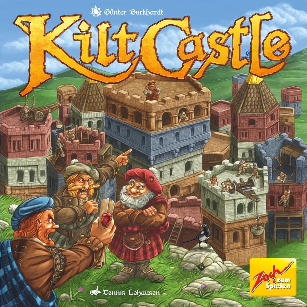 """Zoch Brettspiel """"Kilt Castle"""" *versandkostenfrei* (Altersempfehlung ab 10 Jahre) [Real.de]"""