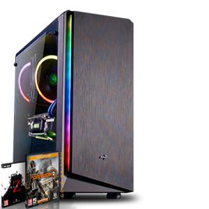 [Agando] Gaming PC: Ryzen 5 2600, Sapphire RX 570 8GB, 16GB 3000MHz RAM, 240GB NVMe SSD, B450, Win 10