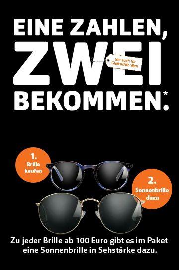 Apollo 1 Brille kaufen für 100€ + 1 Sonnenbrille inkl. Stärke gratis