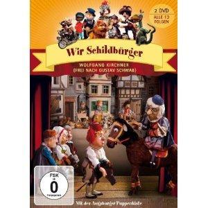 Amazon: Verschiedene Augsburger Puppenkisten DVDs für 4,99 €/9,99 ( doppel DVD)