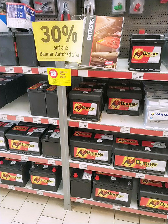 30 % auf Banner Batterien bei A.T.U