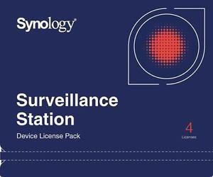 Synology Surveillance Device License Pack - Lizenz - 4 Kameras