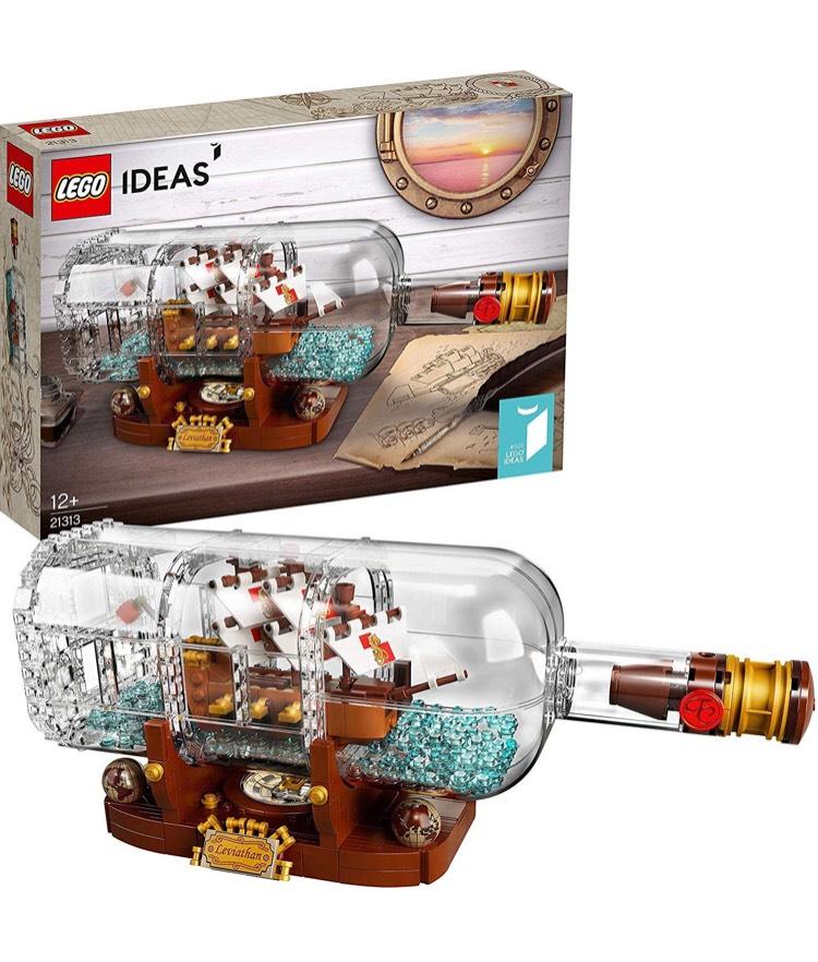 Amazon - LEGO 21313 - Schiff in der Flasche