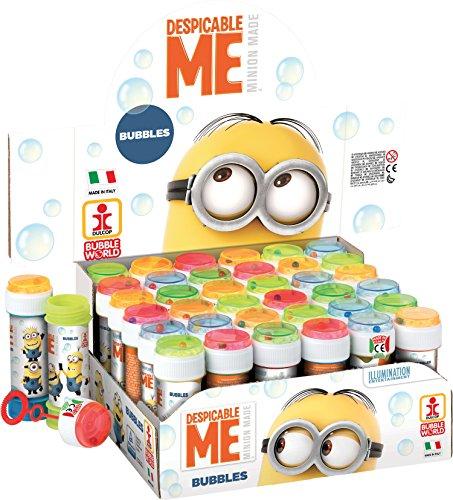 Preisfehler Amazon Plus Produkt: Display mit 36 DULCOP Seifenblasenblasen Flaschen 60 ml + Minions Geduldspiel Minions