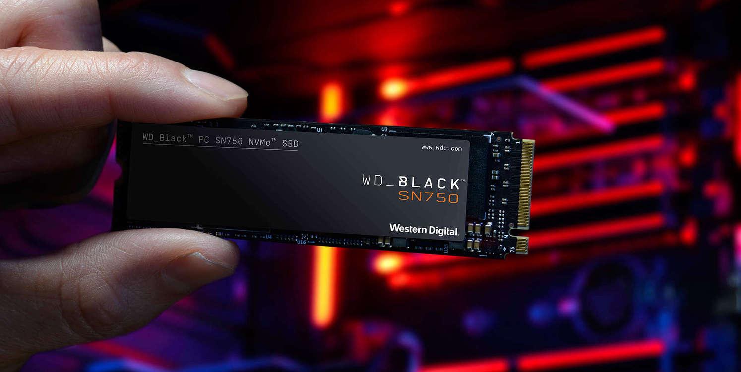 WD Store - WD Black SN750 NVMe SSD 1TB und WD Black 2TB HDD kostenlos dazu