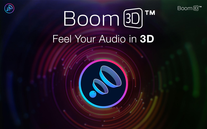 BOOM 3D - Audio Equalizer APP für PC + MAC