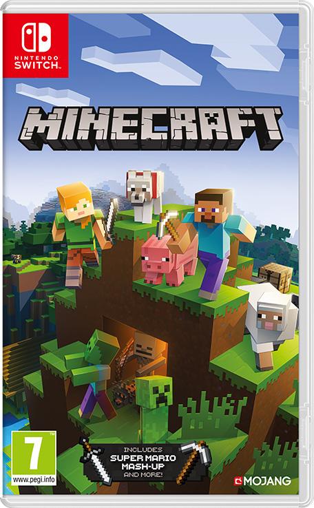 Minecraft (Switch) 10,34€ Südafrika (eShop)