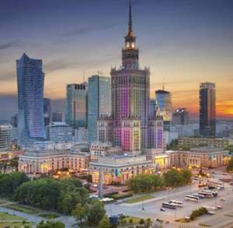 Flüge: Warschau [Mai - Aug] Hin und Zurück von Berlin, Eindhoven, Memmingen, Köln, Basel ab 26€ / 6€ bei Zahlung mit Amex