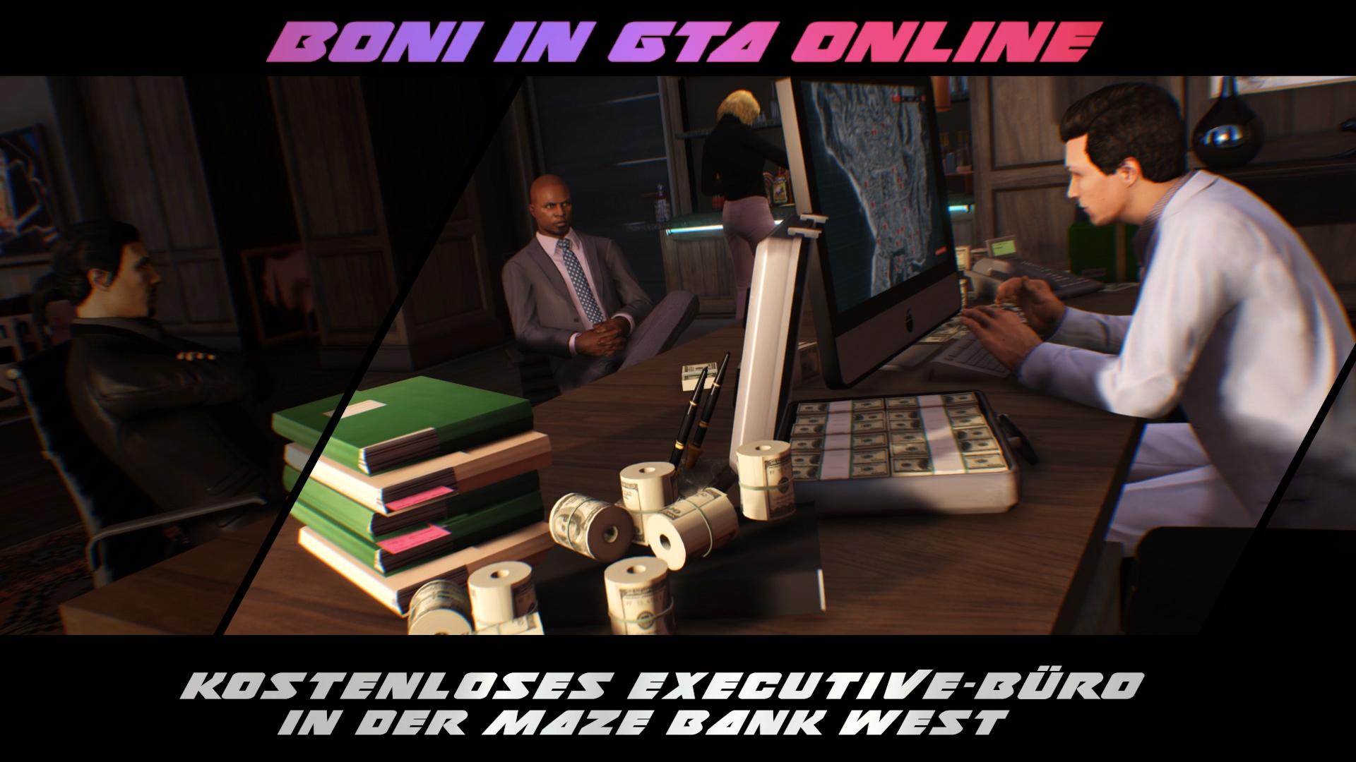 """Bürogebäude """"Maze Bank West"""" in GTA-Online kostenlos!"""