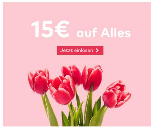 15 € Rabatt auf alles bei Quelle    ( MBW 60 € ) bis 12.05.2019