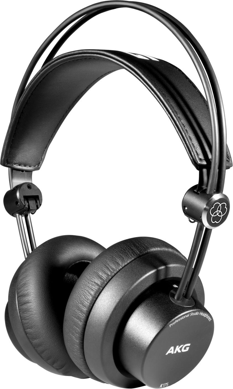 Studiokopfhörer AKG K175 (Over-Ear, geschlossen, 40mm-Treiber, 32Ω, 5m Spiralkabel, 3.5mm Klinke)