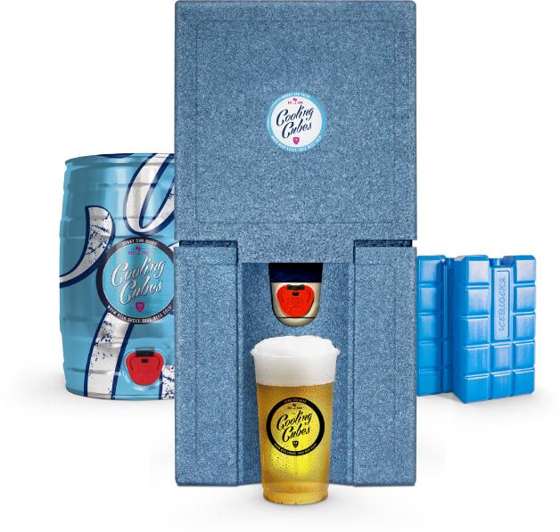 Cooling Cubes - Passiv Kühlung für 5l Partyfässer