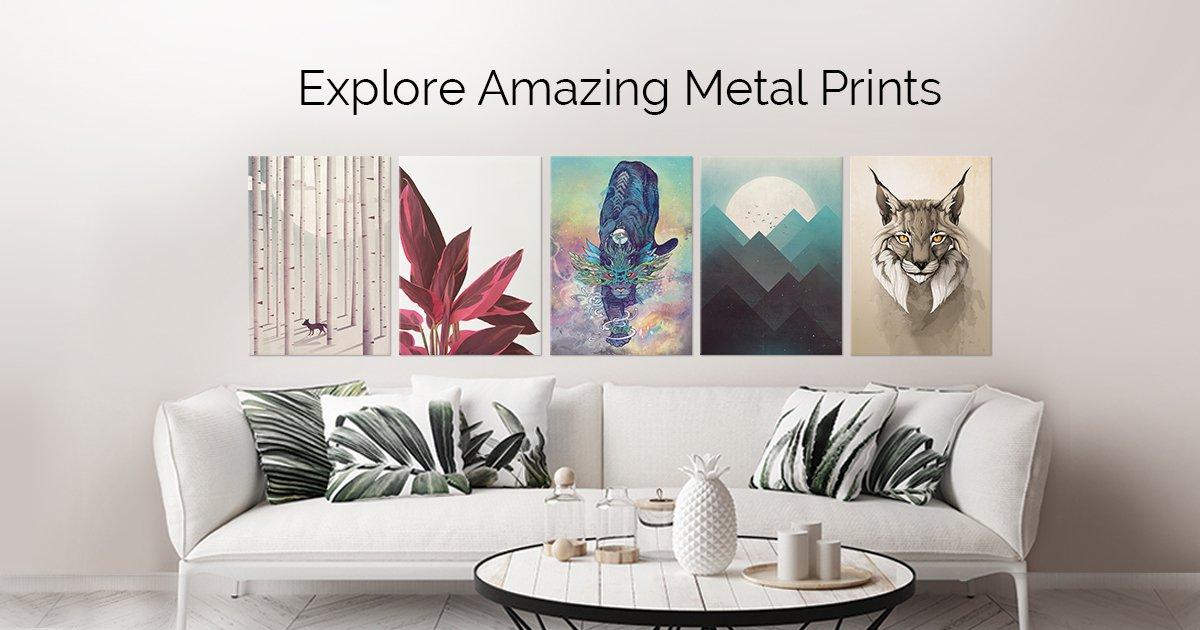 [Displate] Aluminium Poster - Ab 5 Stück 40% Rabatt - ansonsten 30%/37% Rabatt + VSK