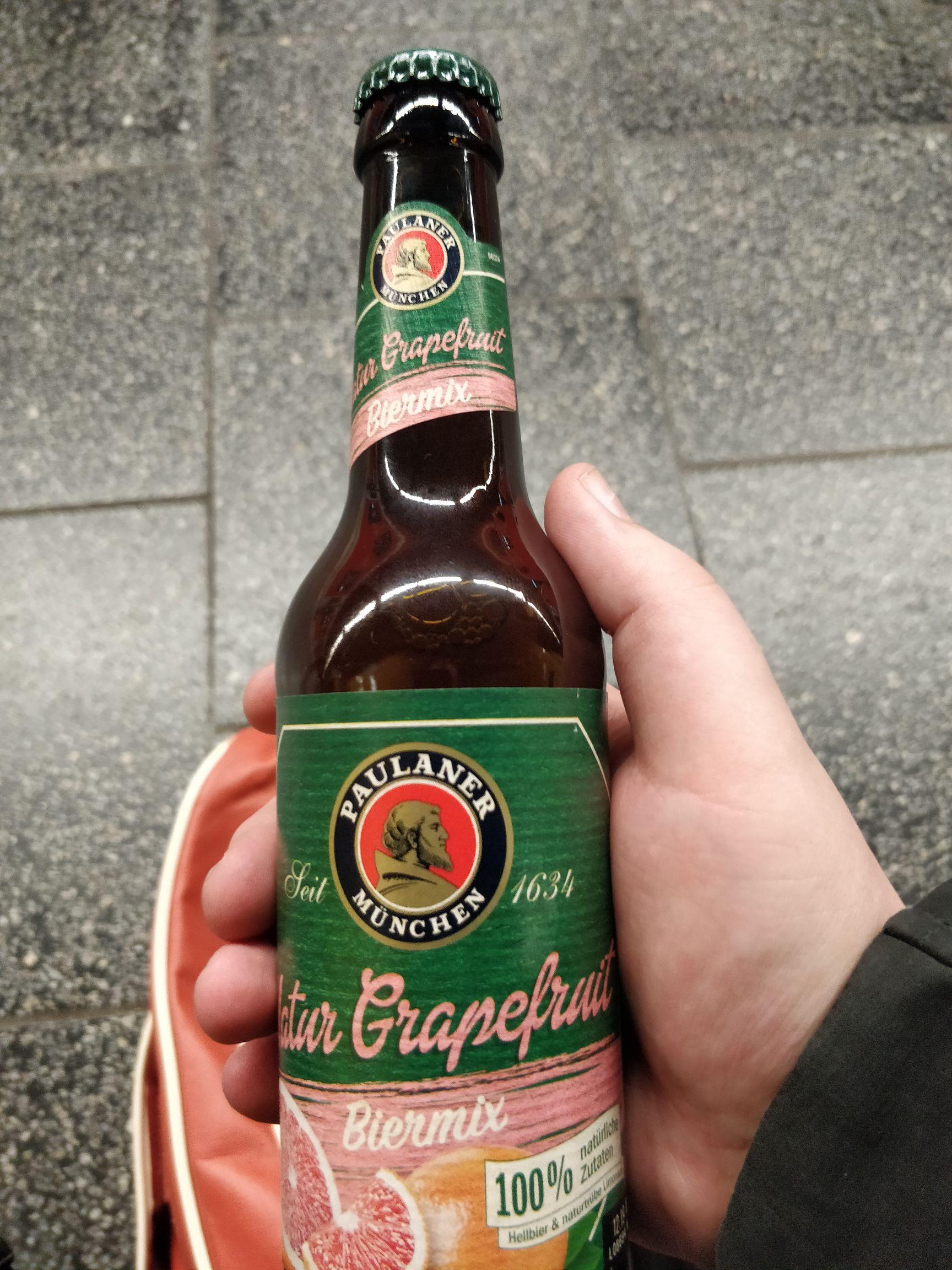 Hit Markt Fasangarten Gratis Paulaner mit Grapefruit Geschmack[Lokal München]