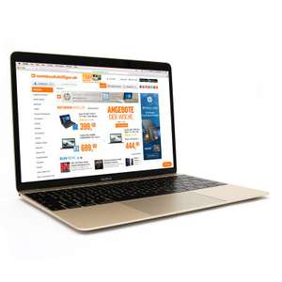 "Apple MacBook 12"" Retina Gold (12"", 2304x1440, IPS, m3-7Y32, 8GB RAM, 256GB M.2 PCIe, USB-C, lüfterlos, 920g)"
