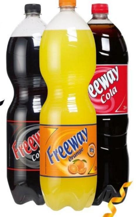 Freeway Cola verschiedene Sorten & Orange 1,5l ++ 3x Käse-Laugen-Stange für 1,00€ ++ Curry Snacker für 0,99€