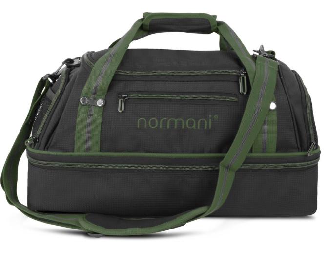 """Normani Sporttasche 28 l """"Südpass"""" mit Bodenfach und seitlichem Schuhfach"""
