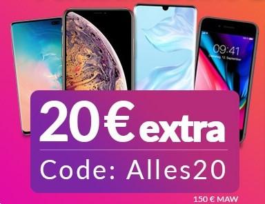 Wirkaufens.de 20€ Gutschein auf Verkäufe von Elektronik aller Art, Mindestankaufwert 150€