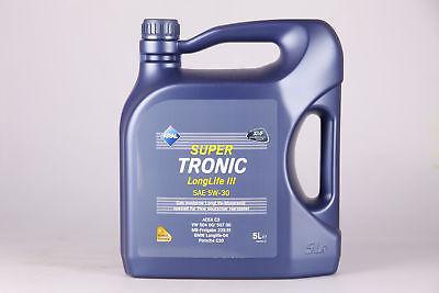 [eBay] Motorenöl Aral SuperTronic LongLife 3 5W-30 5 Liter