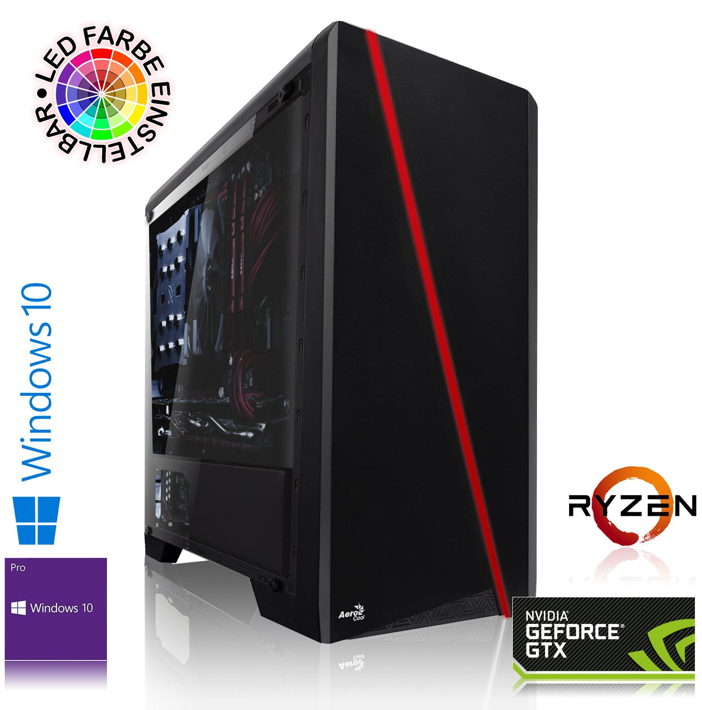 Gaming PC mit AMD Ryzen 5 2400G, 16GB DDR4 RAM, 240 GB SSD, RX 580 8GB, World War Z & The Division 2 Gold Edition für 501,80€ (MemoryPC)