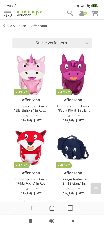 Affenzahn Rucksack für Kinder
