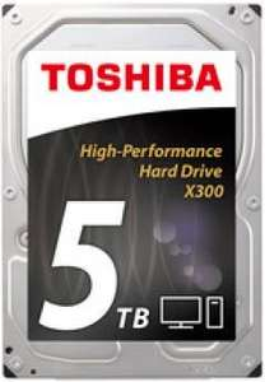 Toshiba X300 5TB 3.5 Zoll SATA 6Gb/s - interne Performance Festplatte