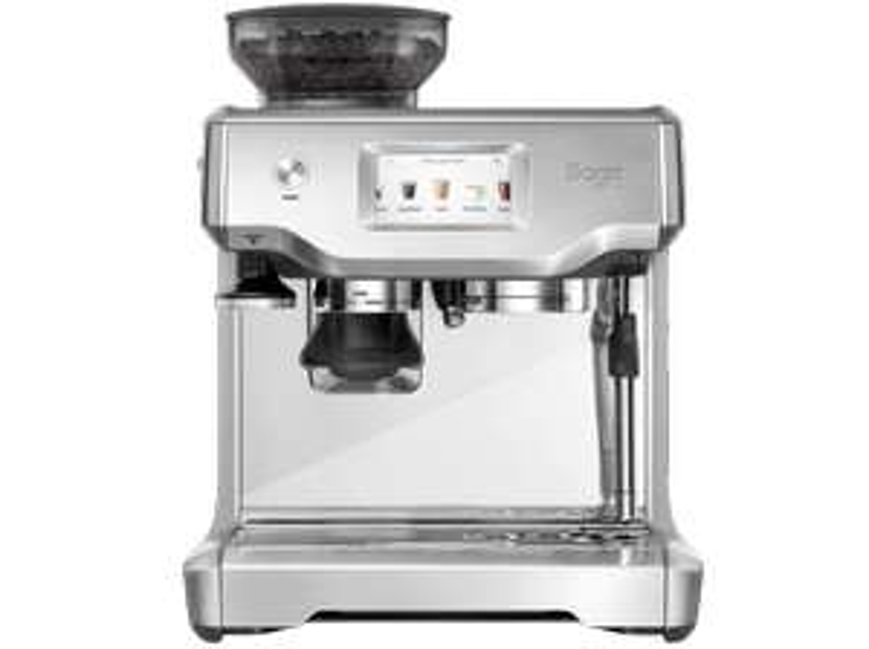 SAGE Espressomaschine The Barista Touch in Edelstahl Siebträger