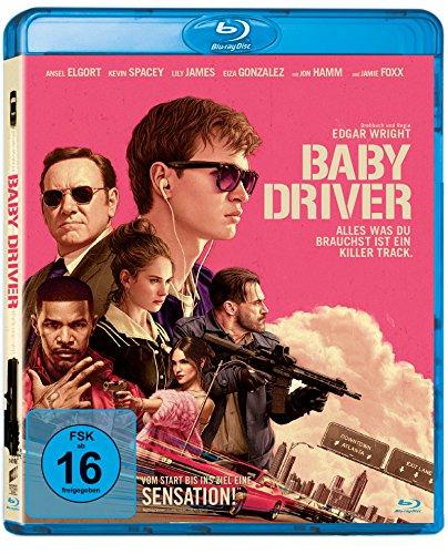 Baby Driver (Blu-ray) für 5€ & Limited Steelbook Edition (Blu-ray + Bonus Blu-ray) für 8,99€ (Amazon Prime & Saturn & Media Markt)