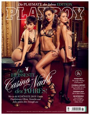 Playboy Jahres-Abo + 3 Sonderausgaben + 04./18 mit 60,- Euro Verrechnungsscheck