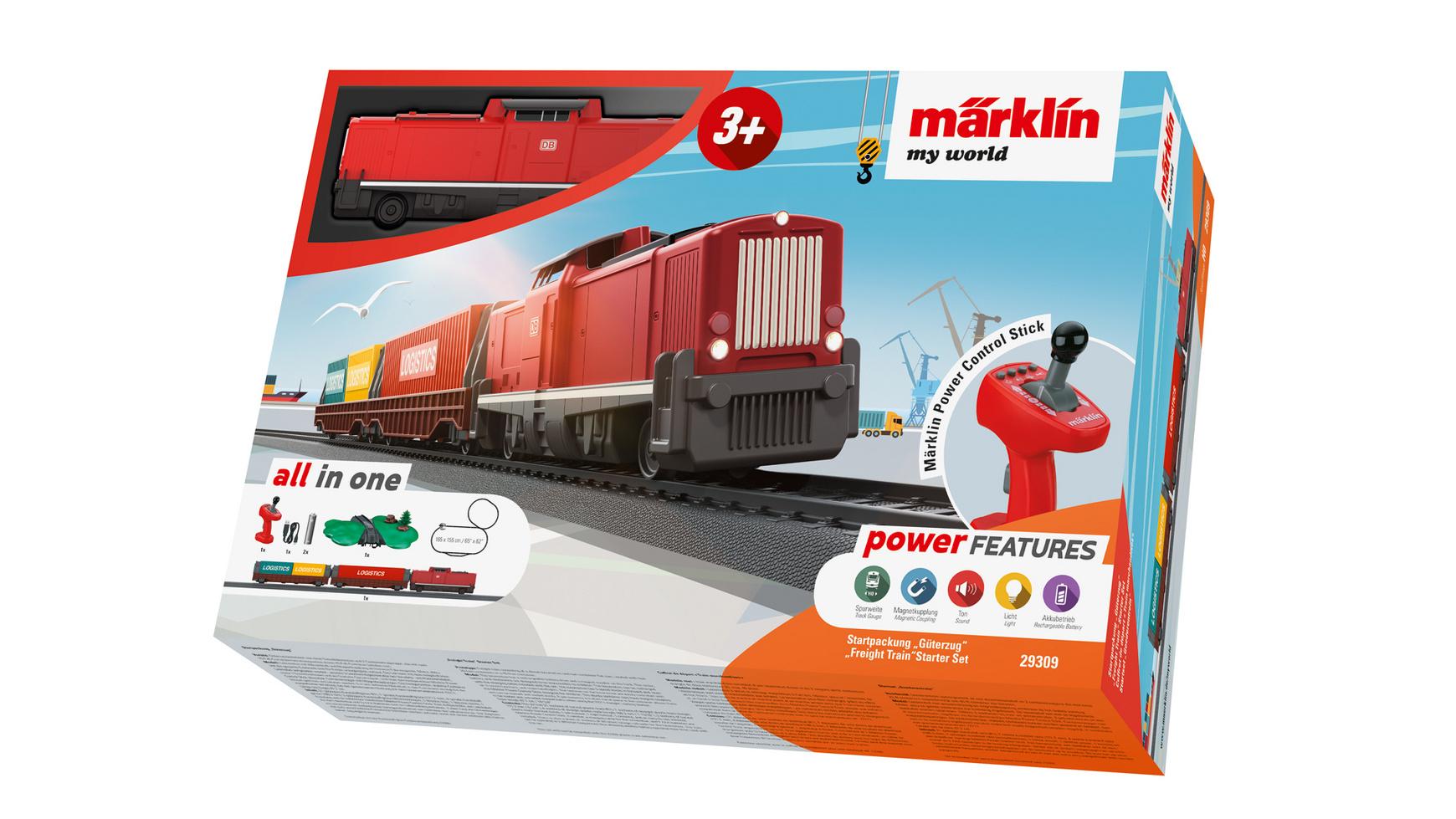 """Märklin 29309 - Startpackung """"Güterzug"""", H0 [mueller.de]"""