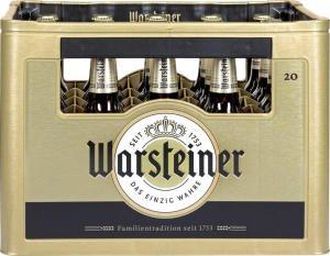 [REWE][PAYBACK] Warsteiner Premium Pils; 20x0,5l + 200 Punkte + gratis Grillschürze