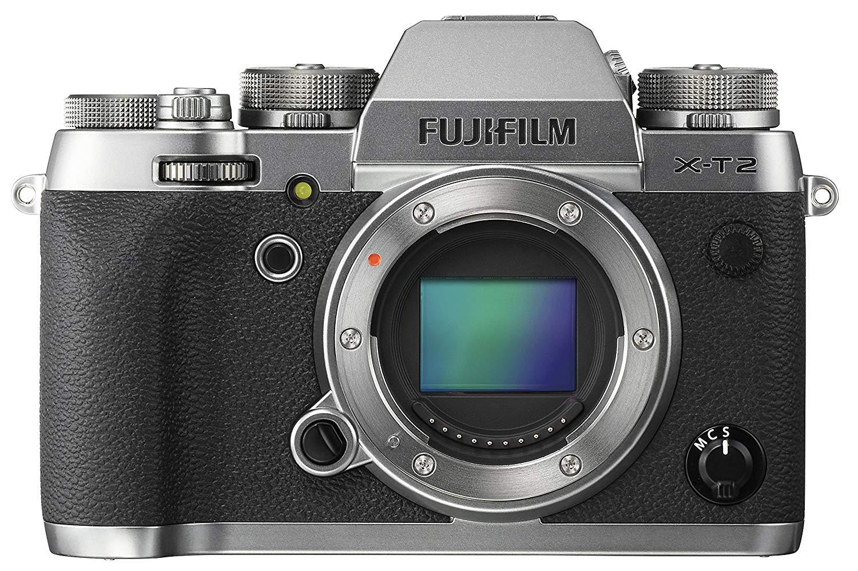 Fujifilm X-T2 Systemkameras Gehäuse - Graphite Silber