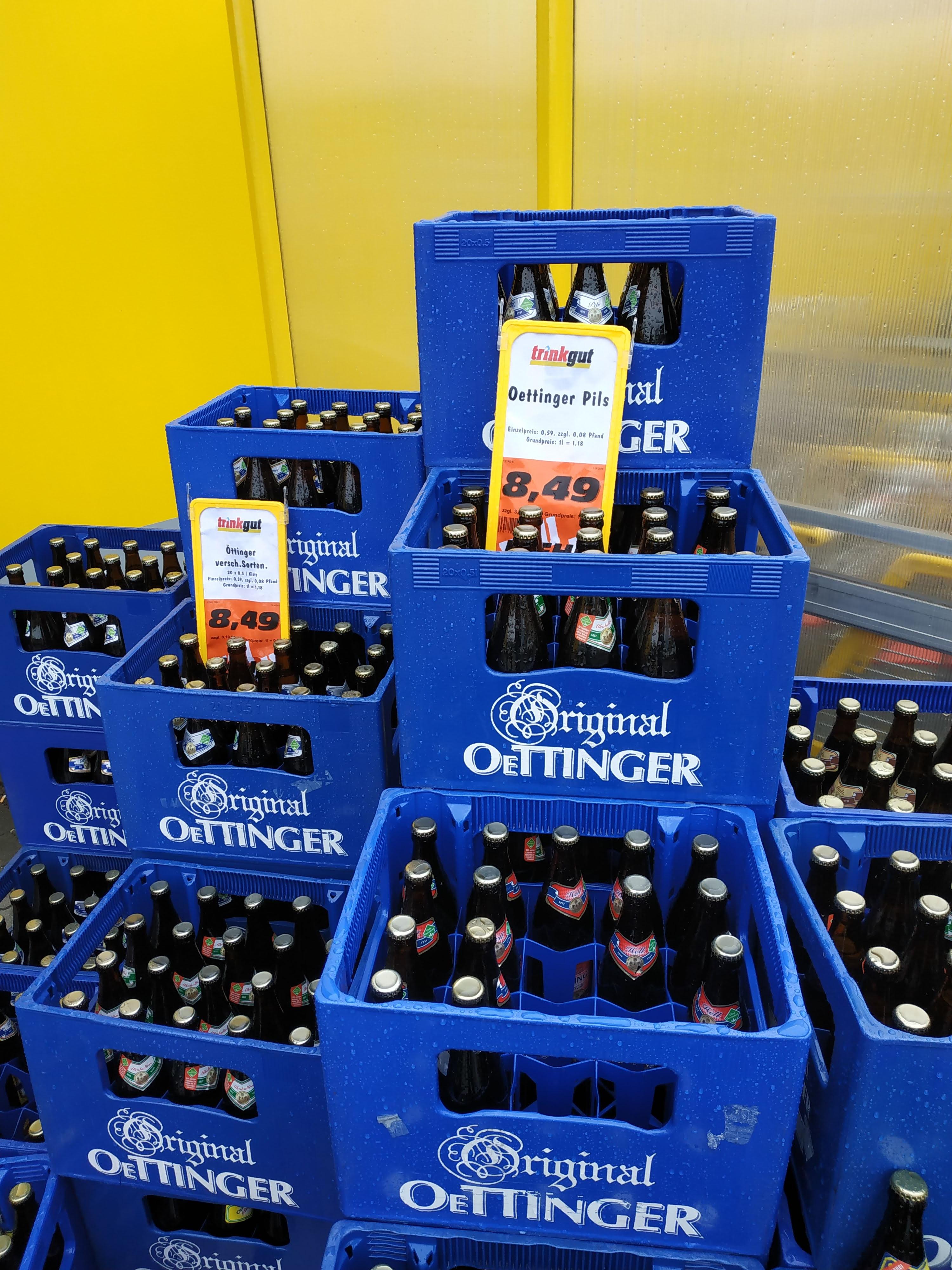 [LOKAL] Trinkgut Bonn Beuel mach jetzt in Wintersport: Oettinger Pils 20x0,5 für 8,49