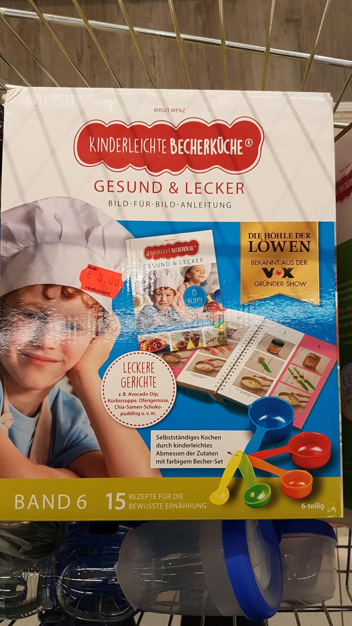 [Mainz Bretzenheim Real] Kinderleichte Becherküche, 6-teiliges Set 3€ statt 19,99€