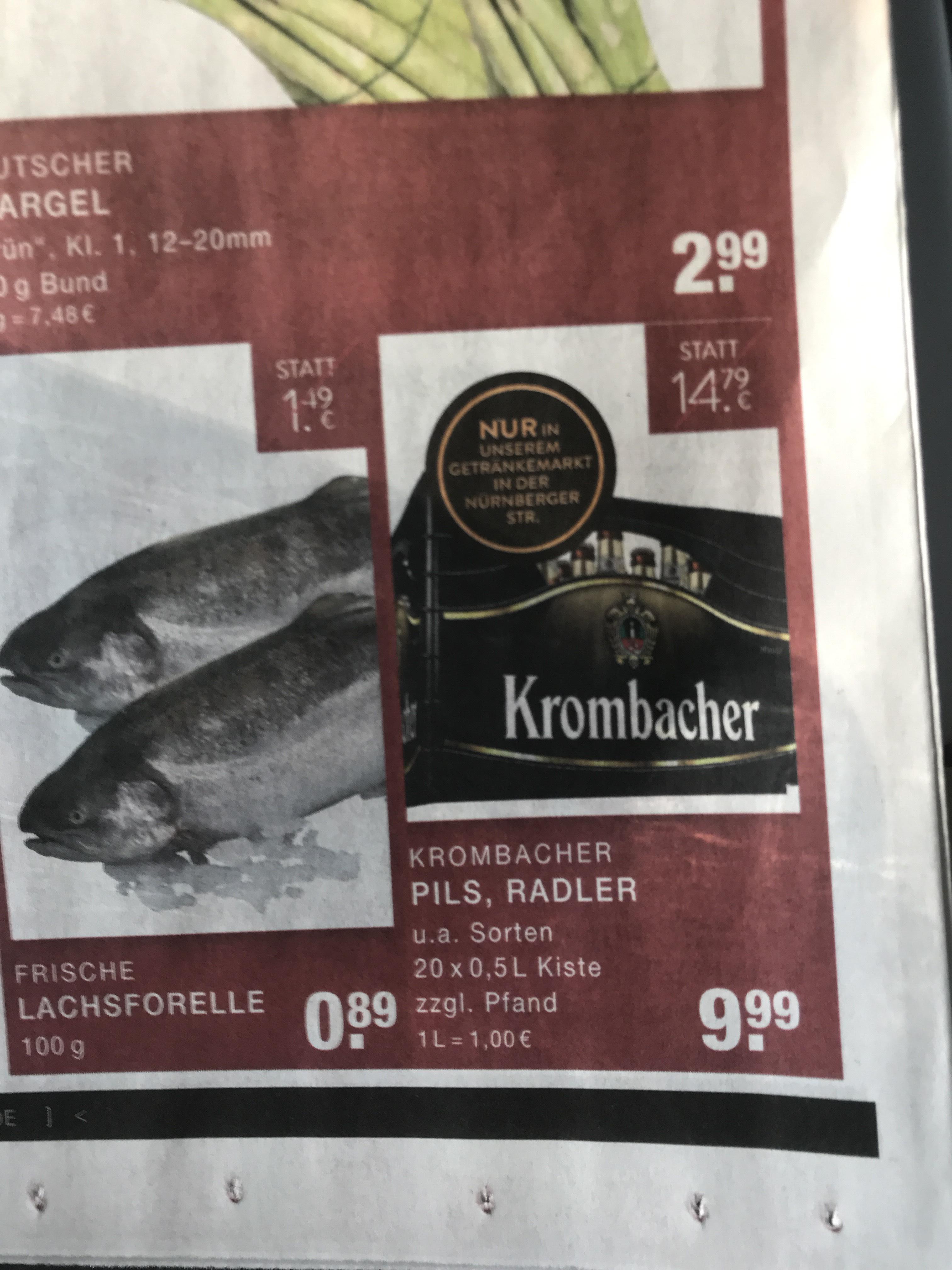 [Lokal Düsseldorf] Krombacher Pils / Radler