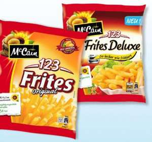 MC Cain 123 Deluxe Frites [Bundesweit, Nettomarkendiscount] 0,11€